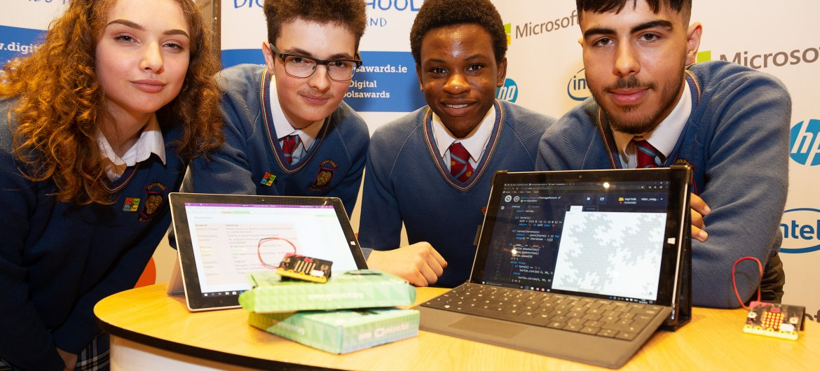 An innovative scheme promoting excellence in digital learning and teaching, and aimed at equipping pupils with cutting-edge digital skills, is set to be offered to Irish secondary schools.